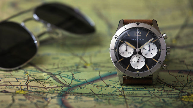 A classic chronograph good looks (plus a fantastic caseback) for an extremely palatable price.