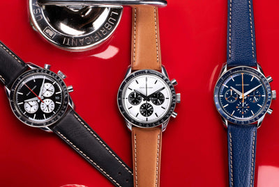 Dan Henry 1962 Racing Chronograph: made with a collector's eye to detail and history.