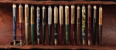 The Skyline pen: the pinnacle of Art Deco design for writing instruments
