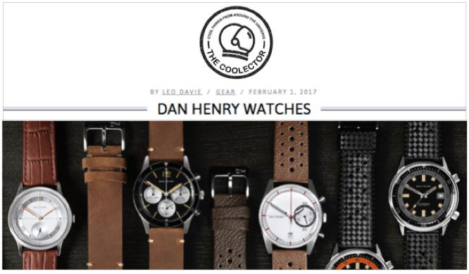 there is certainly a lot to be impressed with when it comes to Dan Henry Watches and for those who are on the lookout for a striking timepiece that doesn't cost the earth, you need look no further