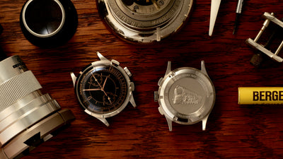 Dan Henry 1937 Dress Chronograph instructions VK61
