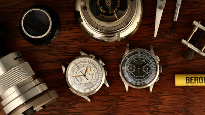 Dan Henry 1937 Dress Chronograph instructions VK64
