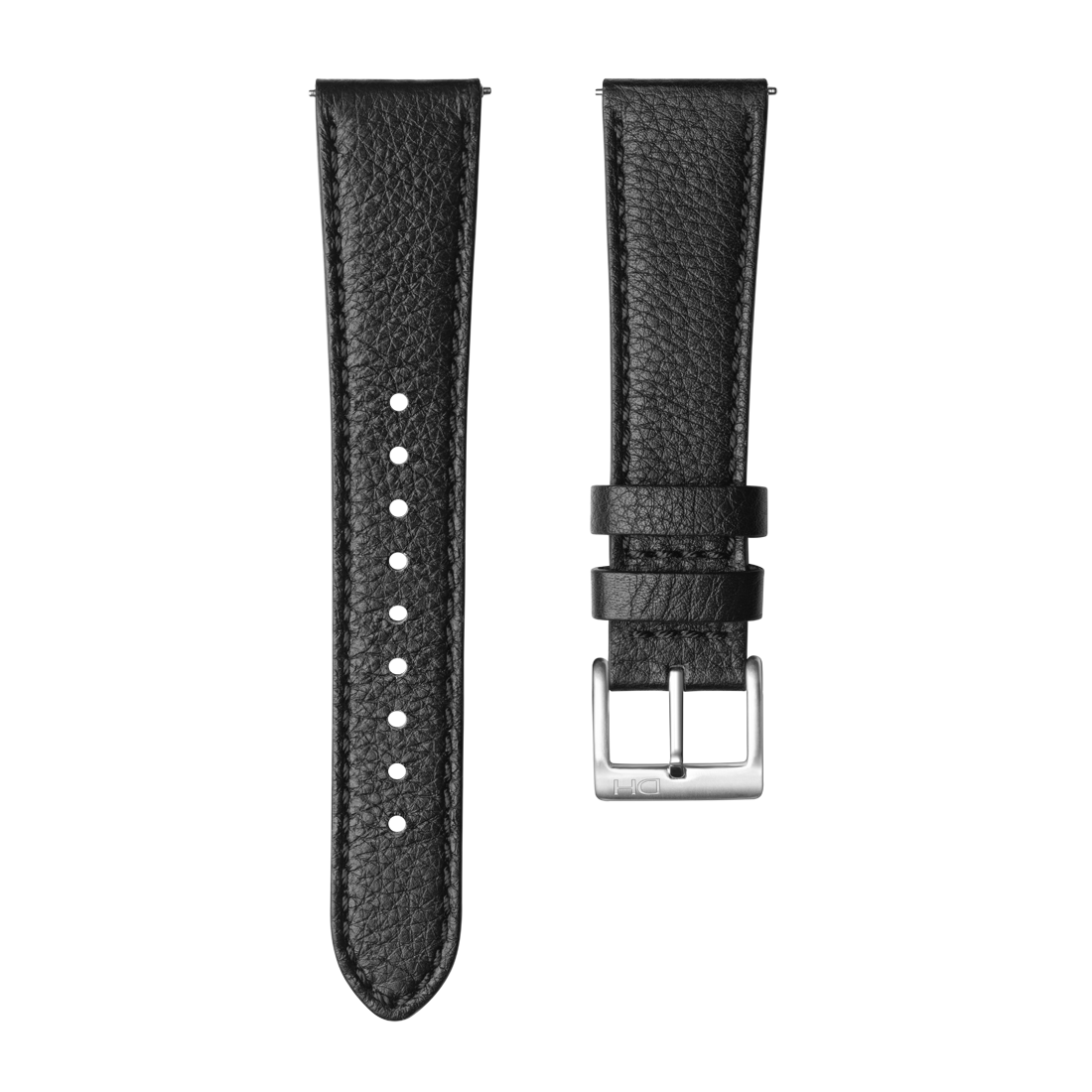 <h3>Leather Strap</h3>1939 leather strap black <br>with <span>Easy Release Strap</span>