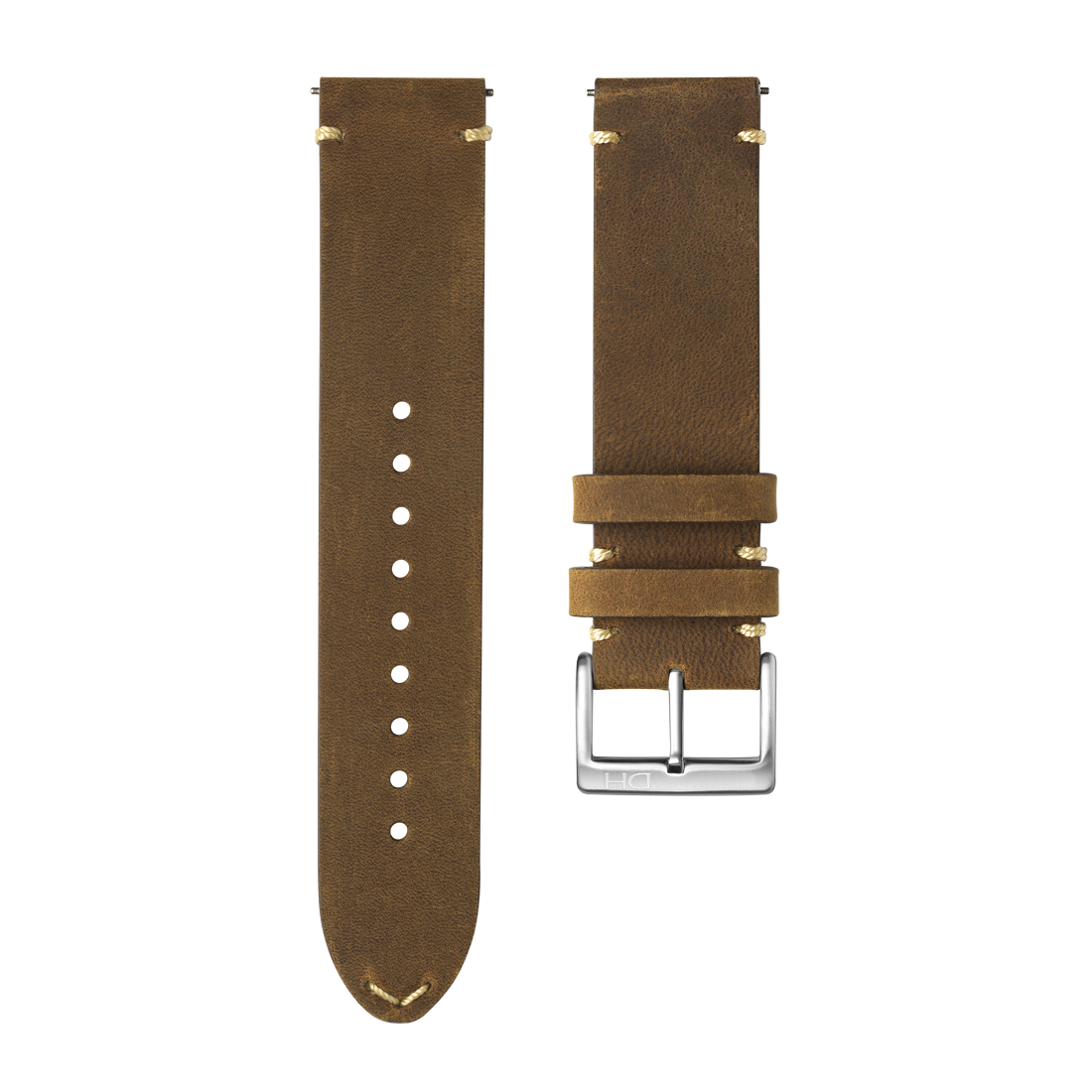 <h3>Leather Strap</h3>1963 leather strap brown <br>with <span>Easy Release Strap</span>