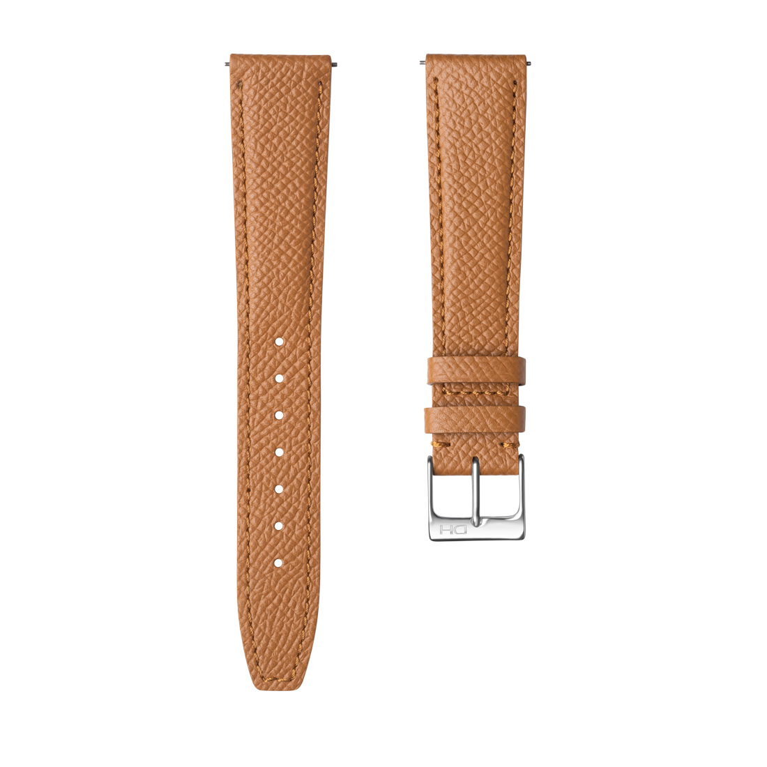 <h3>Leather Strap</h3> 1964 caramel leather strap <br><span>Easy Release Strap</span>