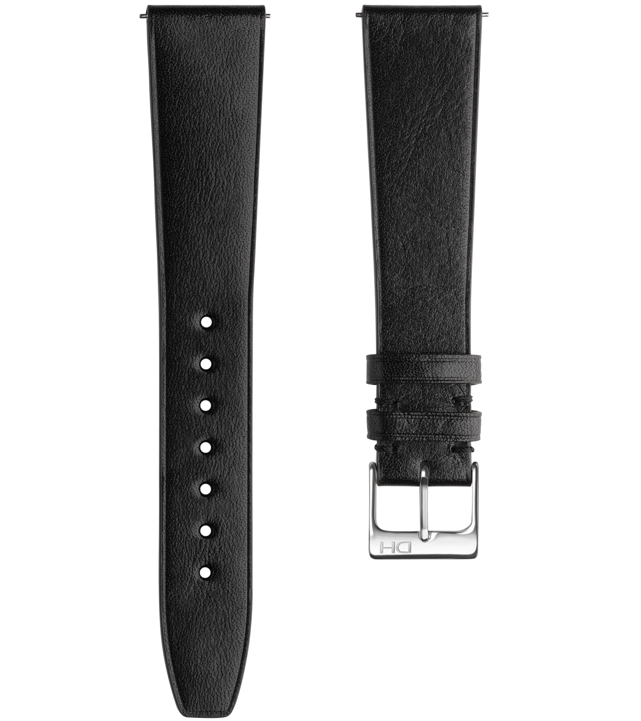 <h3>Leather Strap</h3> 1937 black leather strap<br><span>Easy Release Strap</span>