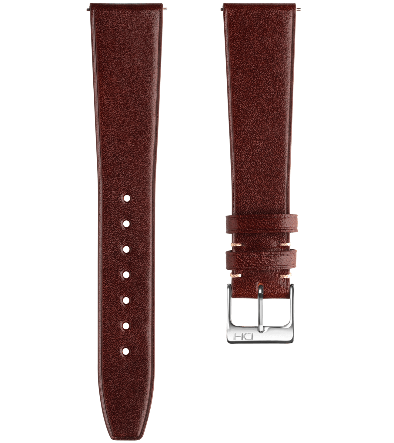 <h3>Leather Strap</h3> 1937 coffee leather strap<br><span>Easy Release Strap</span>