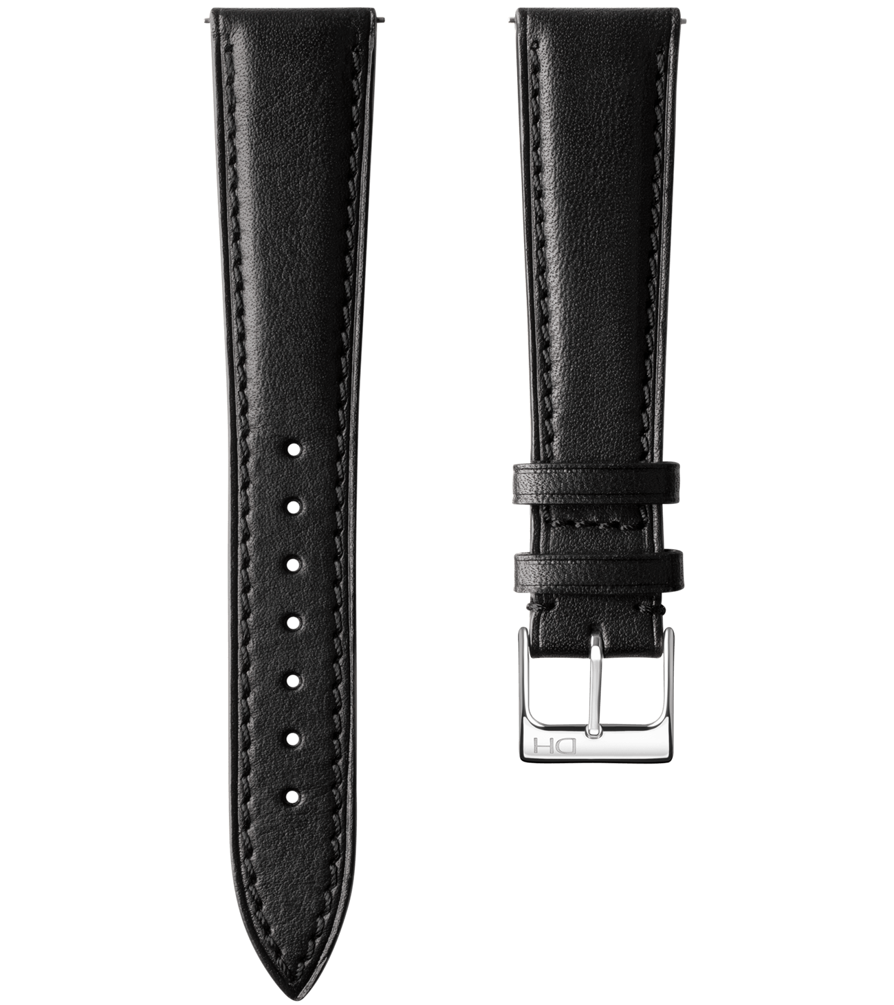 <h3>Leather Strap</h3> 1962 black leather strap<br><span>Easy Release Strap</span>