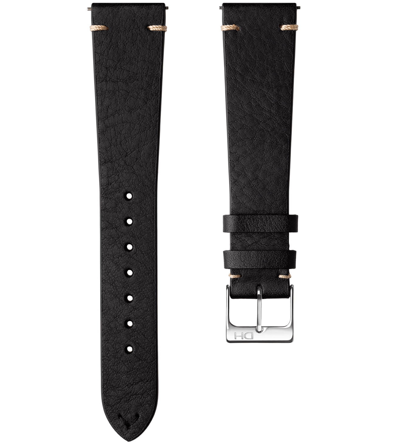 <h3>Leather Strap</h3>1963 leather strap black <br>with <span>Easy Release Strap</span>
