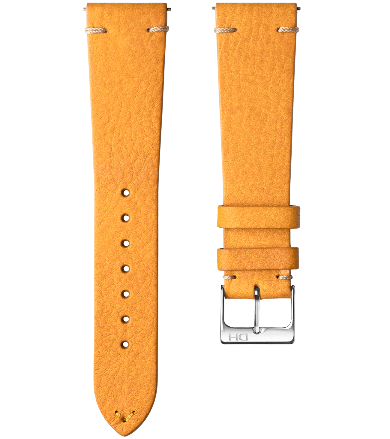 <h3>Leather Strap</h3>1963 leather strap mustard <br>with <span>Easy Release Strap</span>