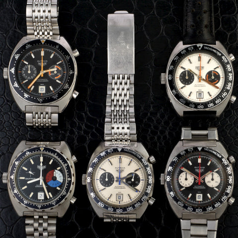 Heuer autavia collection