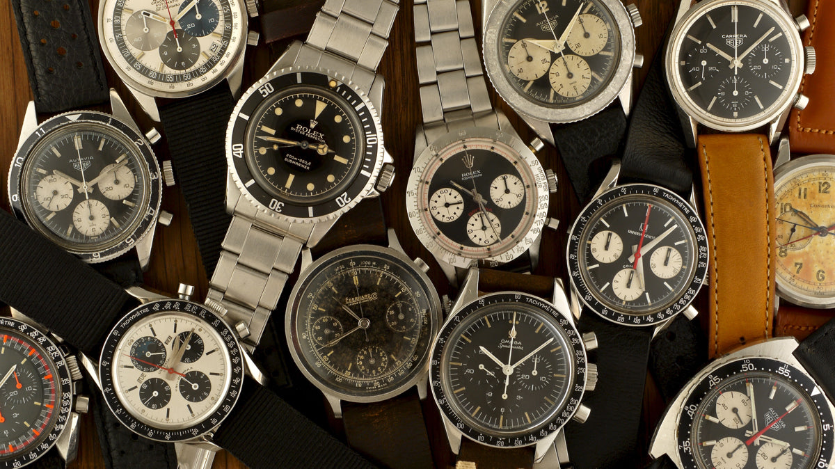 EXPENSIVE VINTAGE WATCHES