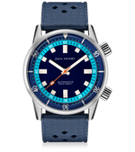 Blue / 40mm / No Date