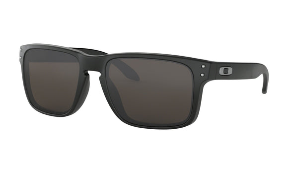Oakley Holbrook Sunglasses 009102-01 Matte Black Warm Grey