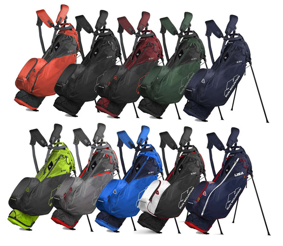 Sun Mountain NEW 2020 4-Way 2.5+ Carry Stand Bag Two Five + - Pick Your Color -