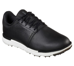 Skechers Go Golf Elite V.3 Men's Golf Shoes Spikeless 54521 Black White Medium