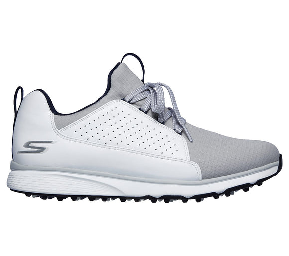 Skechers Mojo Elite Men's Golf Shoes Spikeless 54539 WGY White Gray