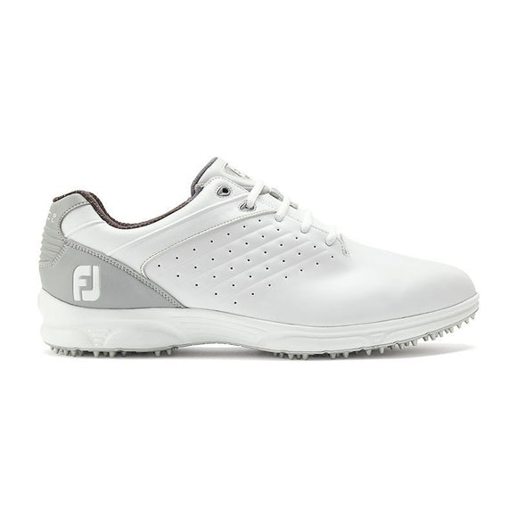 Footjoy ARC SL Golf Shoes Spikeless 59700 Men's White Grey Choose Your Size