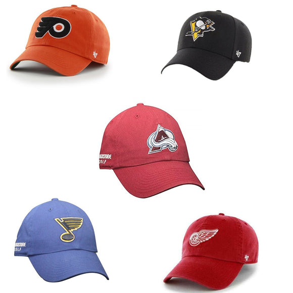 Bridgestone Golf NHL Cap Hat '47 Adjustable OSFA Choose Your Team