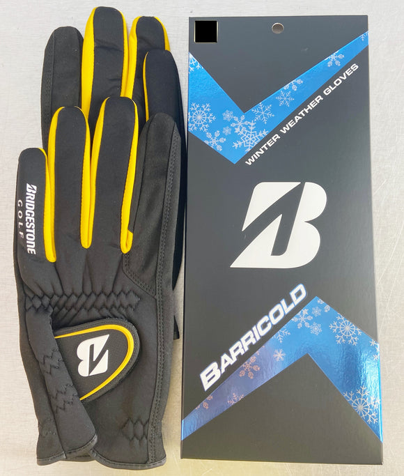 Bridgestone Golf Barricold Winter Gloves 1 Pair Right & Left Hand Medium NEW