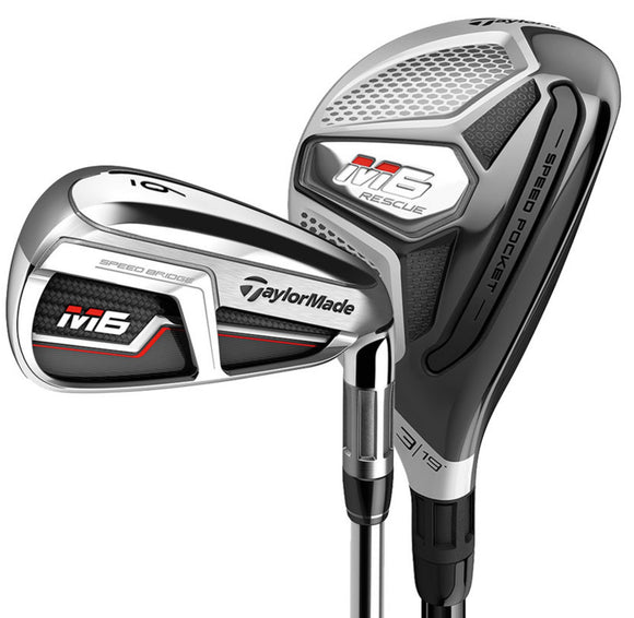 TAYLORMADE Golf 2019 M6 Combo Rescue Iron Set CHOOSE YOUR CUSTOM SPECIFICATIONS