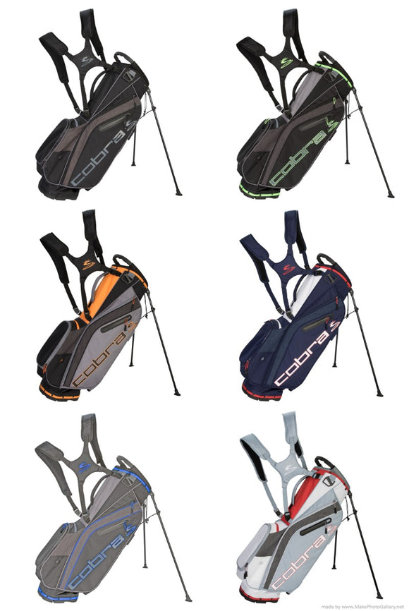 Cobra Golf 2019 Ultralight Stand Carry Bag 4.5 LBs 5 Way Top Choose Your Color