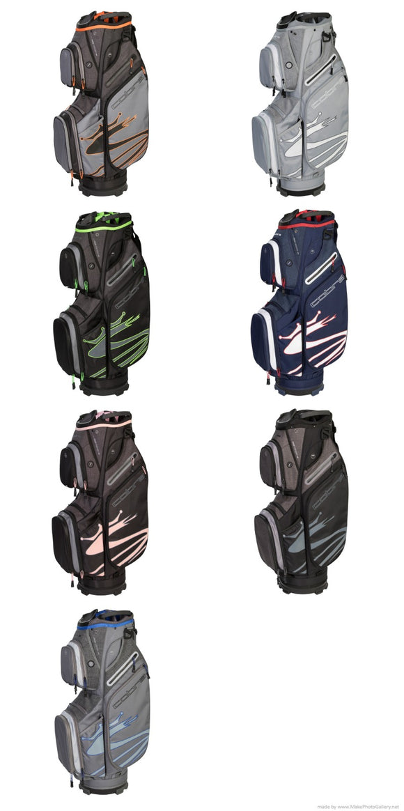 Cobra Golf 2019 Ultralight Cart Bag 5.3 Pounds 14 Way Top Choose Your Color