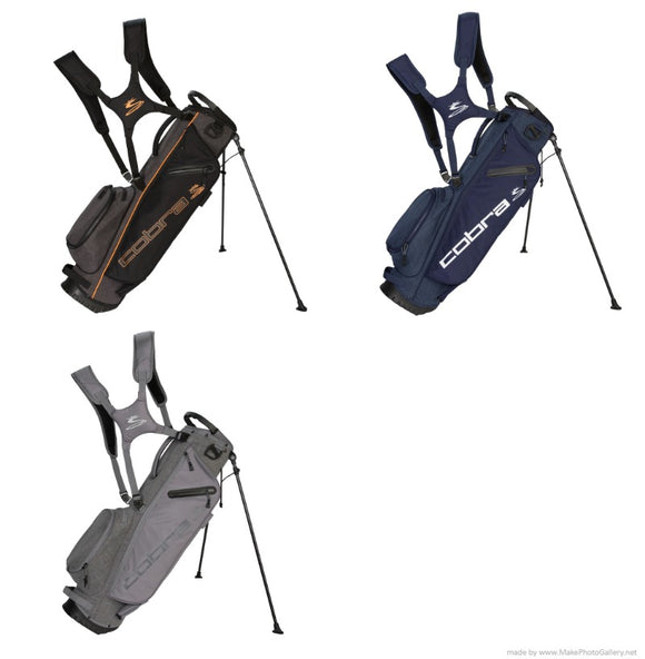Cobra 2019 Ultralight Sunday Stand Bag Ultra Light 3 way top 3.8 LB Choose Color