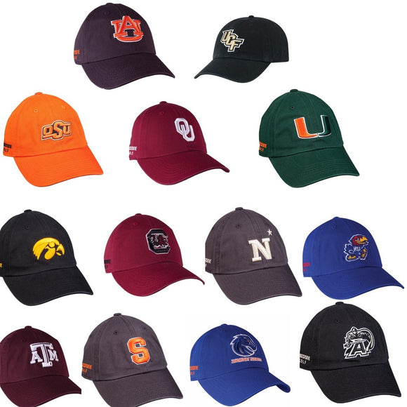 Bridgestone Golf NCAA Cap Hat Relaxed Adjustable OSFA Choose Your Team
