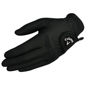 Callaway Golf Optigrip Rain Gloves Black Pair RH and LH Choose Your Size