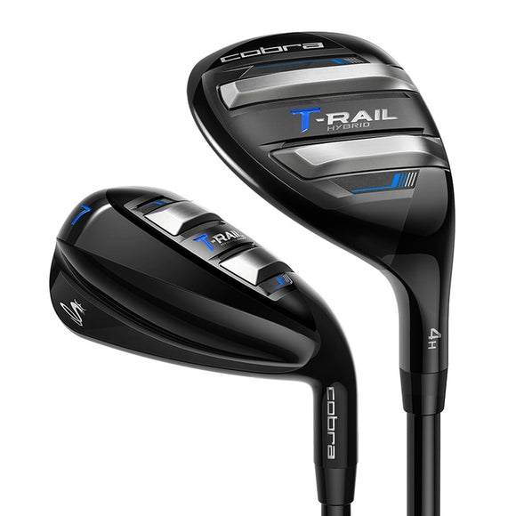 Cobra Golf T-Rail Men's Hybrid 7 Piece Iron Set Utralite 50 Graphite You Choose