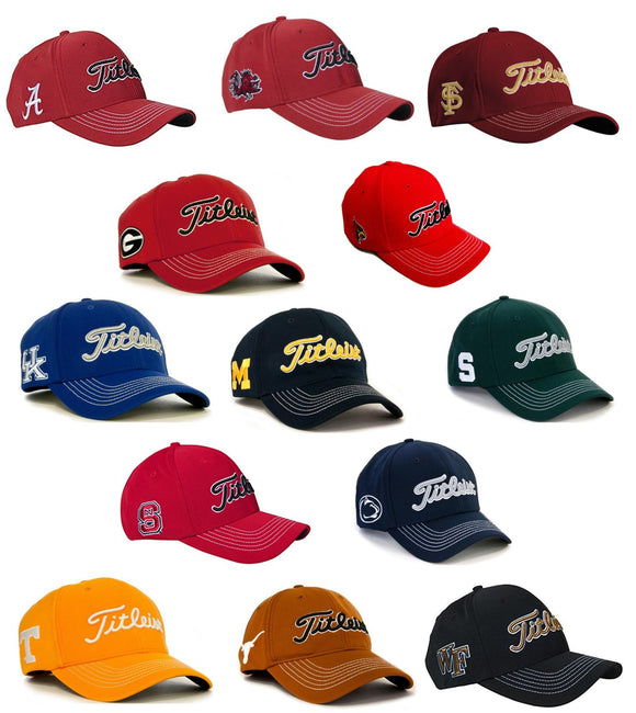 Titleist Collegiate Fitted Stitched Cap