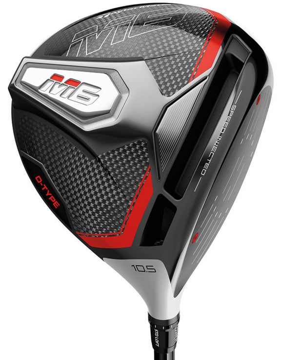 Taylormade 2019 M6 D-TYPE Driver 10.5 Aldila Rogue Silver 60 R Regular Men's RH