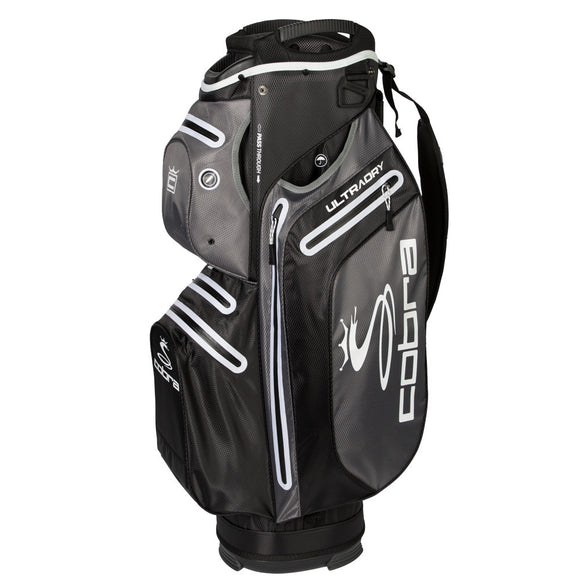 King Cobra Ultradry Cart Bag New For 2019 Ultra Dry 15 Way Top 4.6 LBs