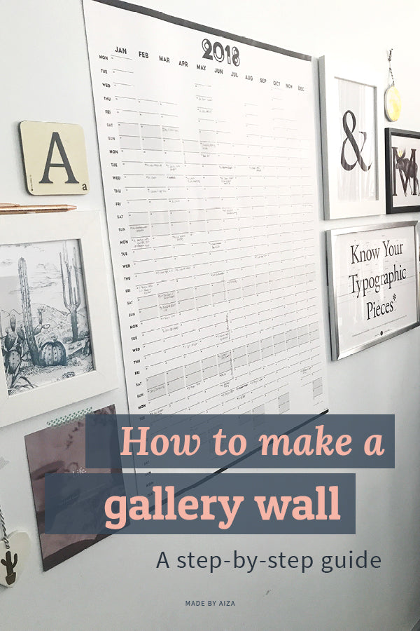 How to make a gallery wall – a step-by-step guide
