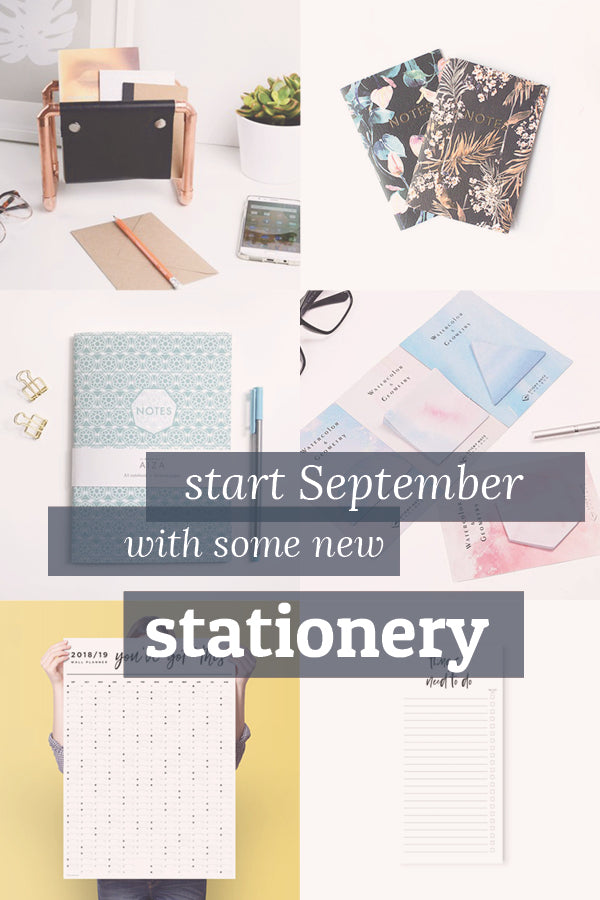 Start your September with some new stationery