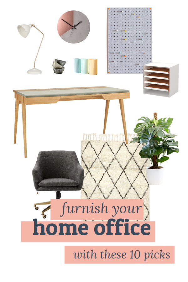 Furnish your home office with these 10 picks