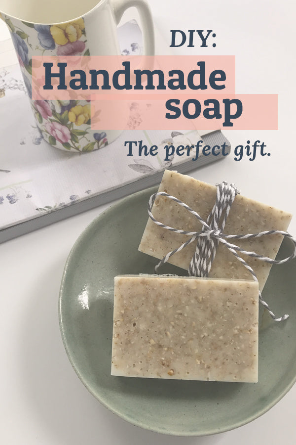 DIY handmade soap – the perfect gift