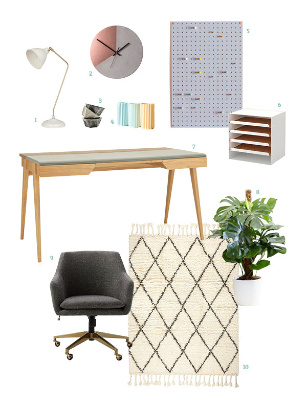 10 Picks For Furnishing Your Home Office U2013 Made By Aiza