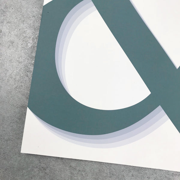 Overstock: Ampersand print 120gsm A3 print
