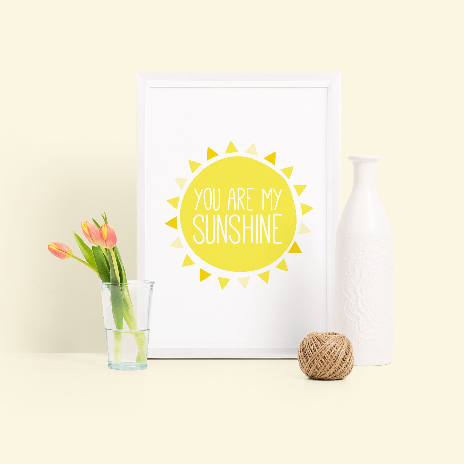 'You are my sunshine' Nursery Print