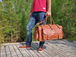 Traveller 35L - 5 colors - LeatherStrata