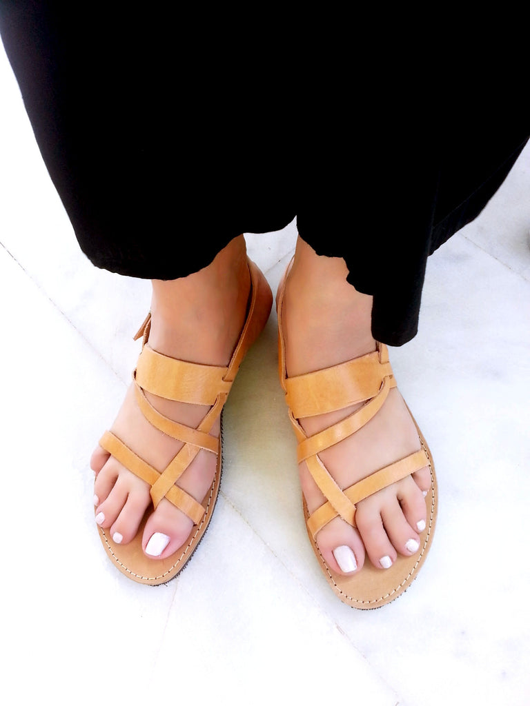 Sandals Leather Leather Sandals Natural Color Leather Color Color Color Leather Sandals Natural Natural Natural Yvgy76fb