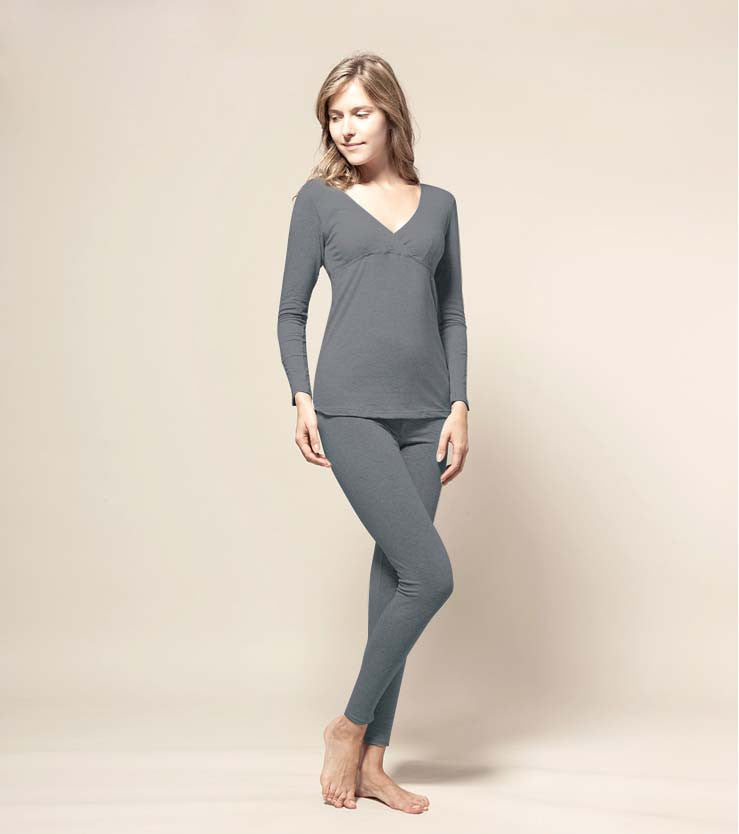 Maternity Thermal Basic Underwear
