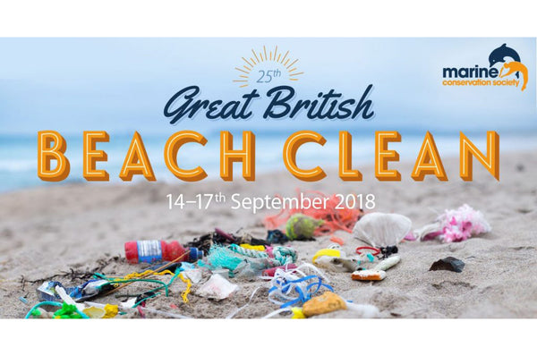 ANNUAL GREAT BRITISH BEACH CLEAN 2018