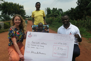 artisans and adventurers charity donation to love with actions