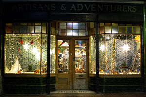 Christmas | Winter Woodland Sustainable Shop Windows