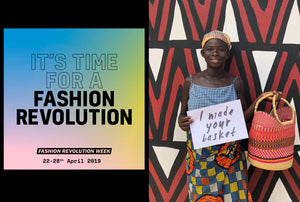 Sustainability | Fashion Revolution Week (April 22nd - 28th) | Events in London
