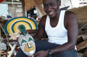 Ghanaian Masks & Mirrors | Meet Godwin