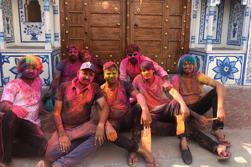 Celebrating Holi With Our Indian Weavers
